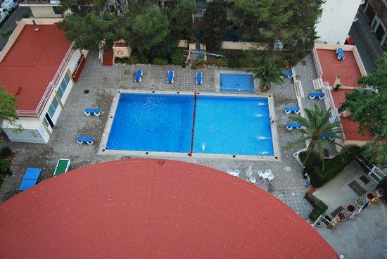 Hotel Pinero Tal: Vista desde la novena planta