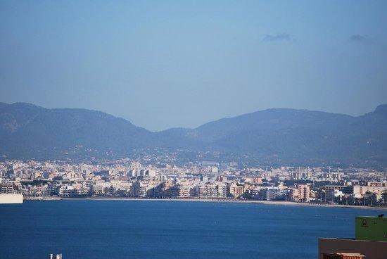 Hotel Pinero Tal: Vista desde la habitacion de la bahia de Palma