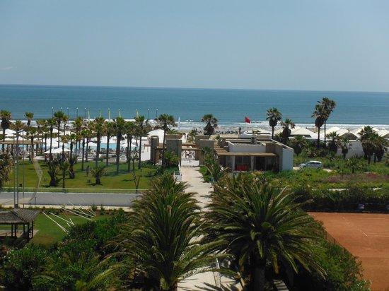 Club Med Yasmina : vue sur le deck