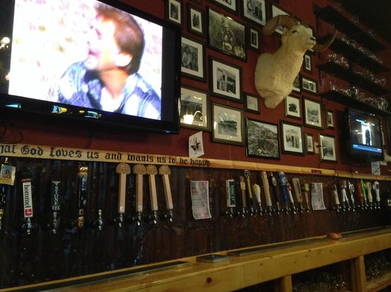 Prospectors Pizzeria & Alehouse: Beers on Tap