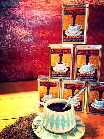 Modern Dwellers Chocolate Lounge: Spicy Mayan Drinking Chocolate