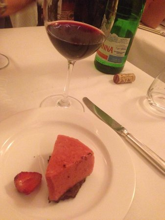 Da Giacomo : Good dessert and nice wines