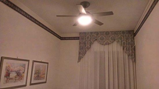 Hotel Ariston: Вентилятор