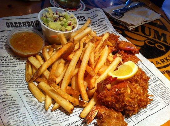 Bubba Gump Shrimp Co. : Gamberi fritti