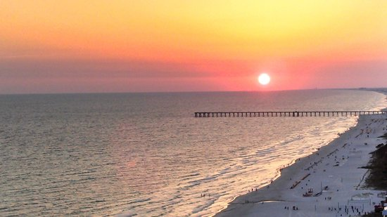 Wyndham Vacation Resorts Panama City Beach: Sunset View from our balcony