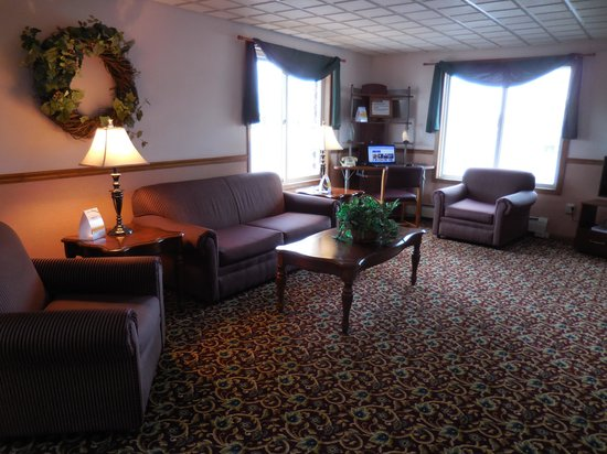 Econo Lodge : Buisness Center one