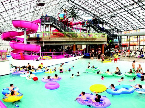 Step into the Wild at Water-Zoo Indoor Water Park where it is summer all year long.  With more t