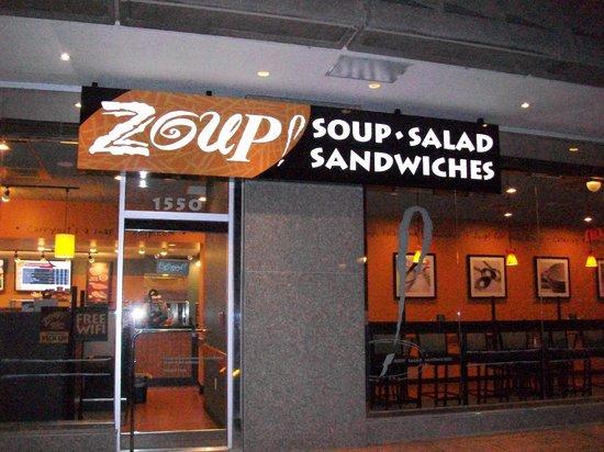 Zoup! Fresh Soup Company: Zoup! Sheraton Hotel