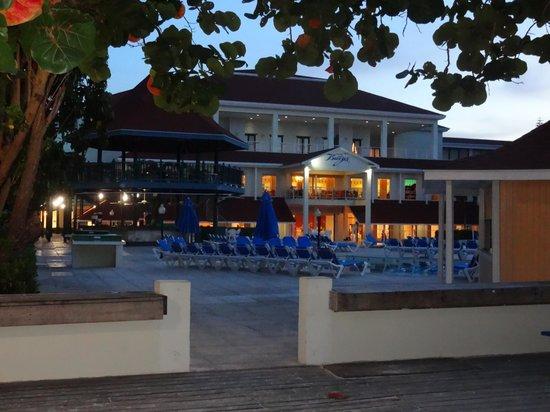 Breezes Resort & Spa Bahamas : Resort at dusk.