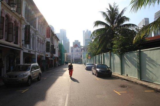 Backpackers Inn Chinatown: Вид с улицы