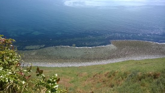 Fort Ebey: beach below