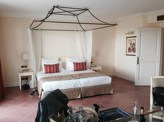 Chateau De La Messardiere : chambre