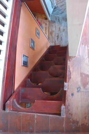 Les Troglos de Beaulieu : Staircase