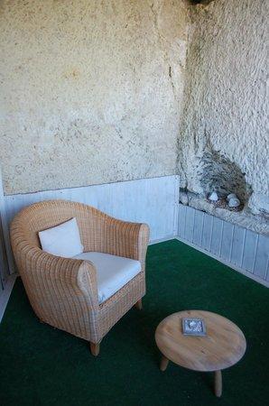 Les Troglos de Beaulieu : Our deck