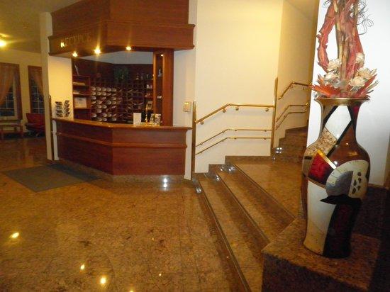Avion : Hotel reception