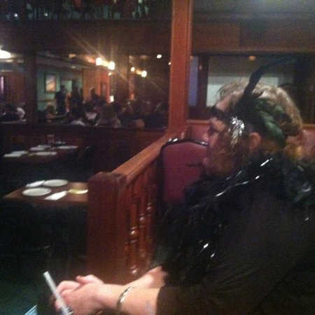 Capone's Dinner and Show: watching the show