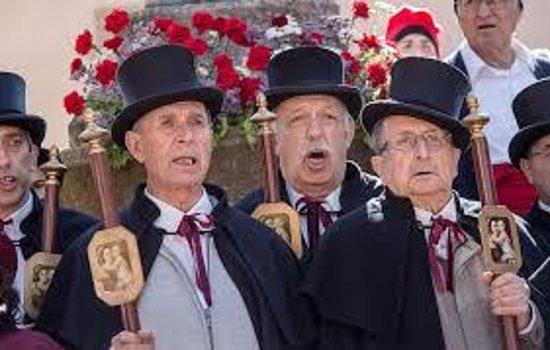 Sant Julia De Vilatorta, Ισπανία: Les Caramelles del Roser a Sant Julià de Vilatorta