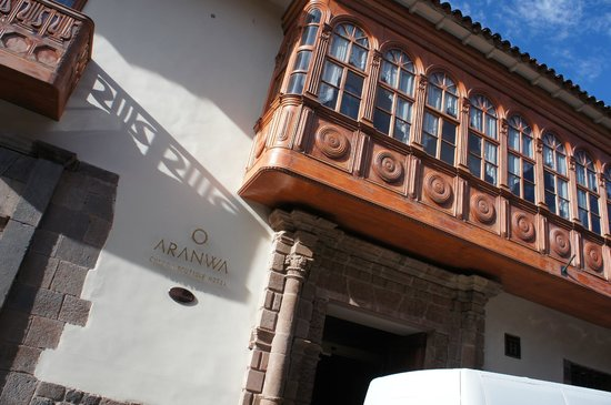 Aranwa Cusco Boutique Hotel: Entrada do hotel