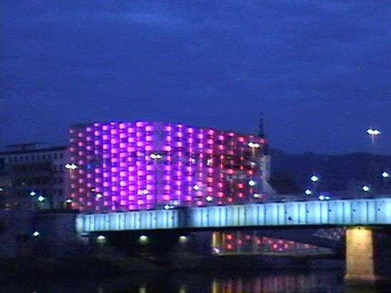 Ars Electronica Center: Bunt.