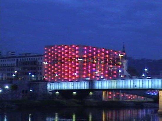 Ars Electronica Center: Grün