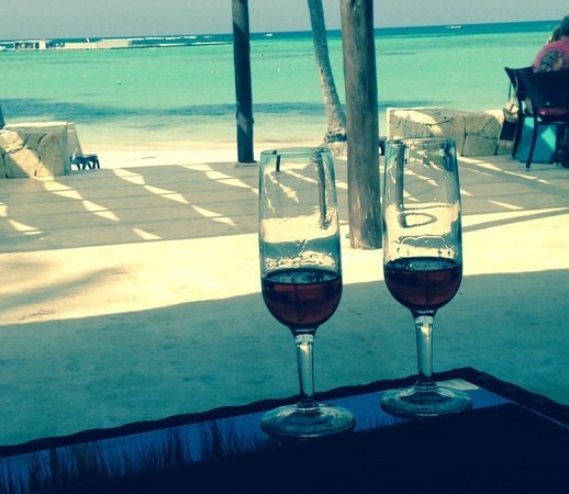Barcelo Bavaro Beach - Adults Only: View from beach restaurant