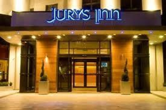 Jurys Inn Manchester: Outside View.