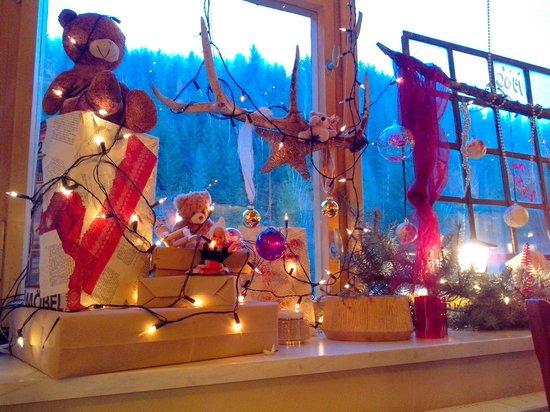 Teichhaus Waldgasthaus & Pension: Weihnachtsdeko