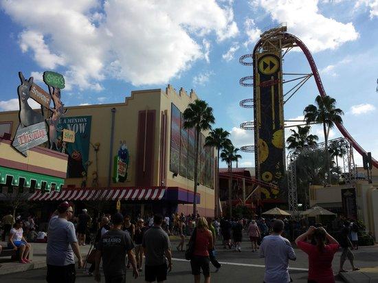 Universal Studios Florida: Rocket coaster
