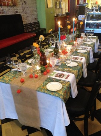 Wild Pear: Private catered dinner
