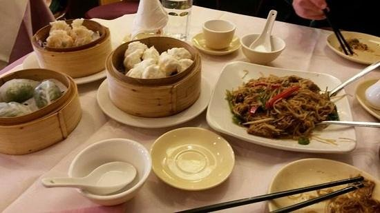 Harbour City : dim sums at harbor city in chinatown, london