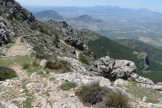 Parque Natural Sierra de Cazorla: View from Puerto Gilillo