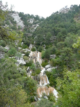 Parque Natural Sierra de Cazorla: Waterfalls only after it rains
