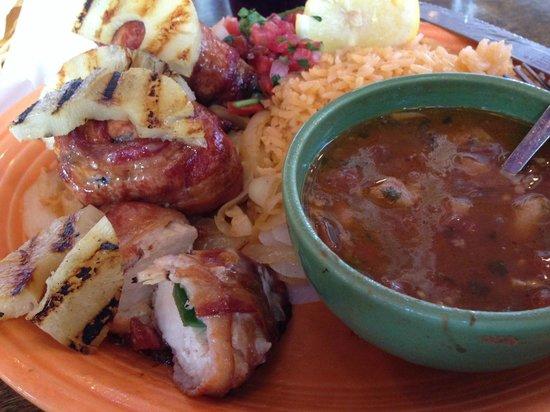 Fajita Jack's: chicken diablos