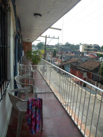 Hotel Los Arcos: Balcony
