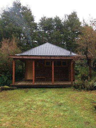 Posada Queulat: Cabaña Ecologica
