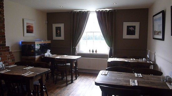 The Hare and Hounds: our beautiful restaurant