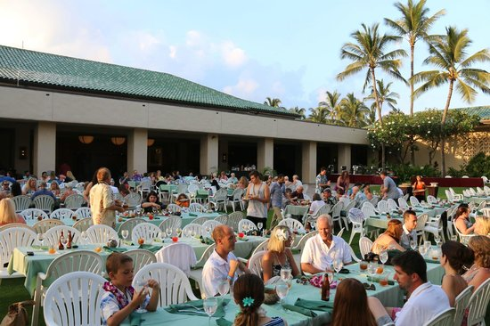 Grand Hyatt Kauai Luau
