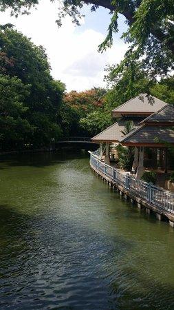Dusit Zoo: Very nice lake in the zoo