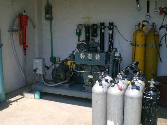 Aquatic Sports and Adventures : Compressor, Fill and Tank storage