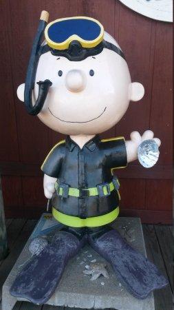Lucas Wharf Restaurant: Thank You Charlie Brown