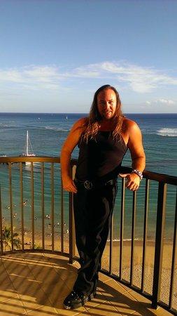 Hilton Hawaiian Village Waikiki Beach Resort: Captain Marky,Mark