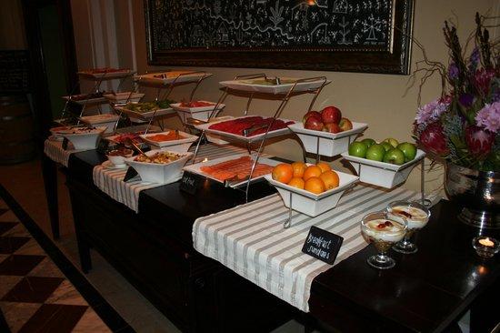 Taj Cape Town: Colazione con sushi