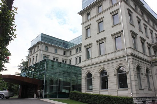 Lido Palace: Entrance lobby