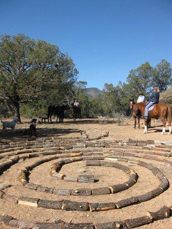 Bear Mountain Lodge: Labyrinth