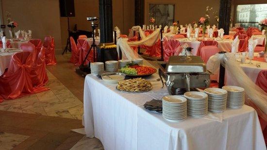 Wedding Reception Appetizer Table Picture Of Acropolis Restaurant