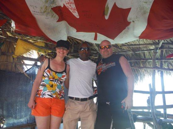 Floyd's Pelican Bar: Canada in Jamaica!