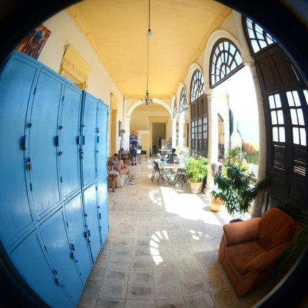 Hostal Zócalo: pasillo