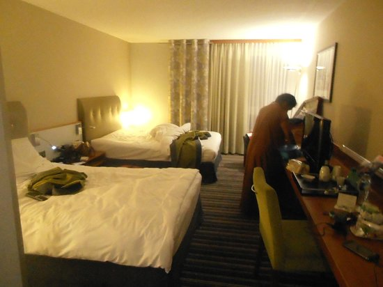 NH Zurich Airport : view of room with Mrs. Uma Devendra Singhal