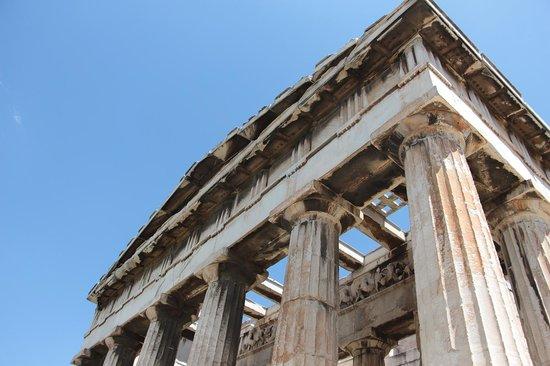 Temple of Hephaestus detail
