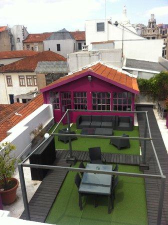 Rivoli Cinema Hostel : Rooftop Terrace